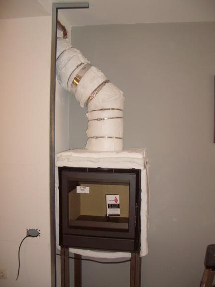 Chimeneasyconductos instalaci n paso a paso de insert for Instalar insert chimenea existente