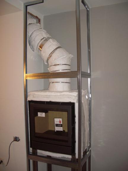 Chimeneasyconductos accesorios para instalaciones de - Instalacion de pladur en paredes ...