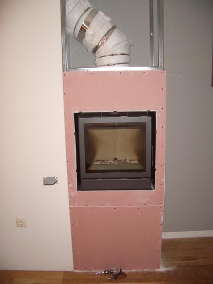 Chimeneasyconductos instalaci n paso a paso de insert - Revestir una chimenea ...