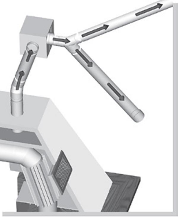 Chimeneasyconductos ventilador para distribuir aire - Calefaccion con chimenea de lena ...