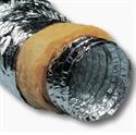 Foto Tubería flexible aislada de aluminio de