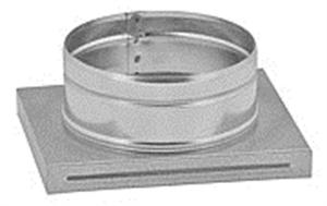 Foto Adaptador de rejillas KRL2 y KRLZ2 a conducto circular de