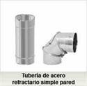 Foto de la categoría Tubería acero refractario 0,8mm espesor