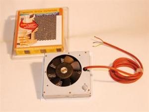 Foto Rejilla con ventilador para revestimiento de chimenea de