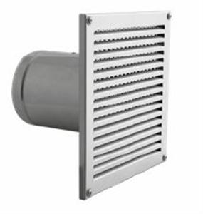 Foto Aireador (pieza para exterior) con rejilla cuadrada de