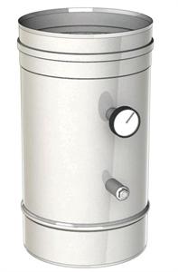 Módulo para comprobación de tiro y temperatura en conducto de humos